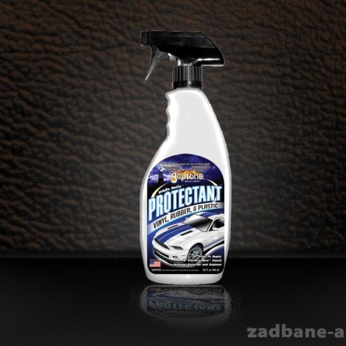 White Satin Protectant dressing do plastików, gumy i winylu oraz folii na autach