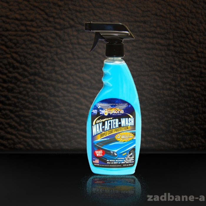 Wax After Wash - z technologią GlipGuard ekspresowy wosk z potrójną ochroną
